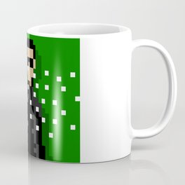 Neo of the Matrix minimal pixel art Coffee Mug