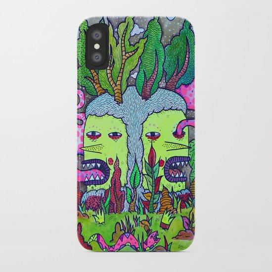 Where The Tree Goblin Grows iPhone Case