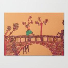 The Perfect Bridge Canvas Print