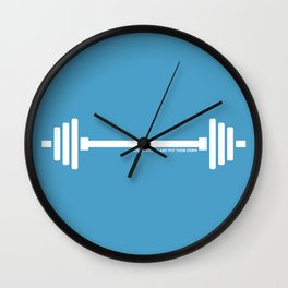 I pick things up and put them down Wall Clock