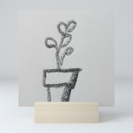 Little Sketch Plants 4 - coloring book (Add your own color!) Mini Art Print