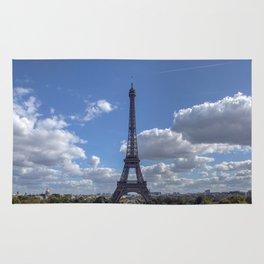 Eiffel tower from Trocadero Rug