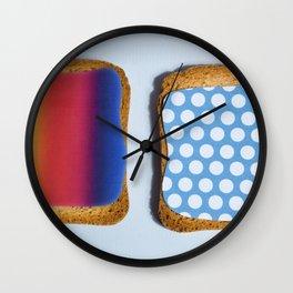 POP TOAST Wall Clock