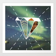 Another Day Another Diamond Art Print