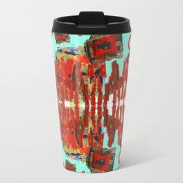 Aztec Space Golem Travel Mug