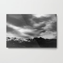 Iceland Glaciers Metal Print