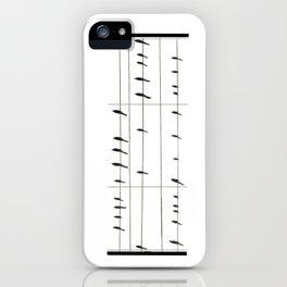 Musical Birds iPhone Case