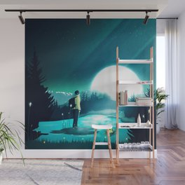 Lost in the Moment Wall Mural