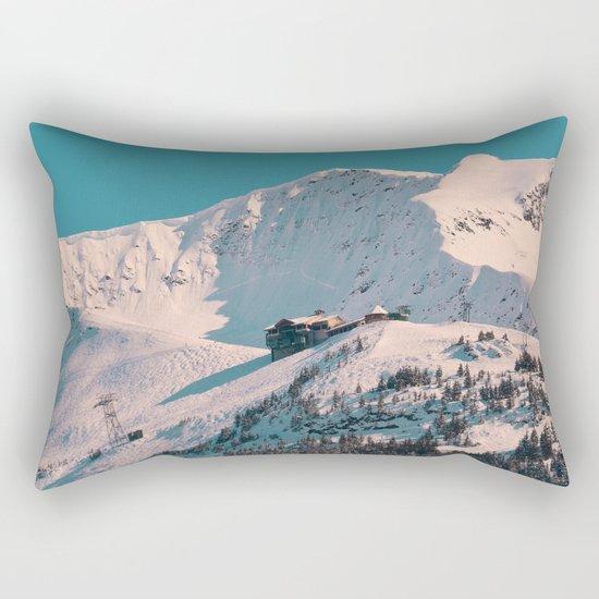 Mt. Alyeska Ski Resort - Alaska Rectangular Pillow