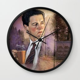 Twin Peaks , Agent Cooper Wall Clock