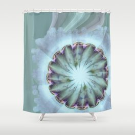 Tampions Natural Flower  ID:16165-113733-19100 Shower Curtain
