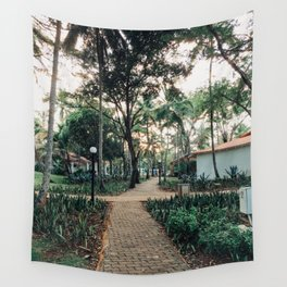 Pathway to Paradise Wall Tapestry