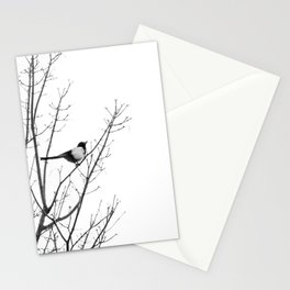 Magpie in the trees Stationery Cards