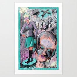KONSUMTERROR Art Print