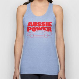 Aussie Power - Valiant Charger Unisex Tank Top