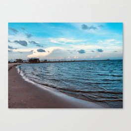 Going to the Gulf Canvas Print