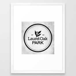 Laurel Oak Park Framed Art Print