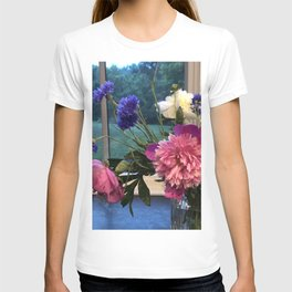 Peonies and Cornflowers T-shirt