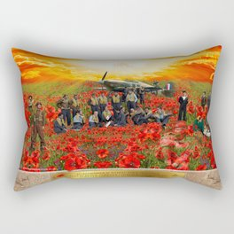 Unfulfilled Dreams Rectangular Pillow