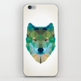Wolf Crystalize 01-A iPhone Skin