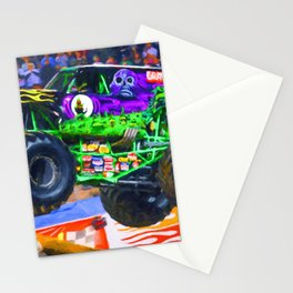 Monster Jam Grave Digger Stationery Cards