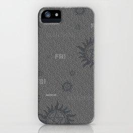 Dean and Sam Aliases iPhone Case