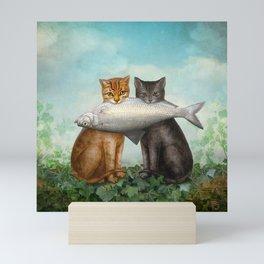 Enjoy Your Dinner Mini Art Print