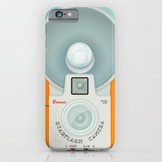 VINTAGE CAMERA ORANGE Slim Case iPhone 6s