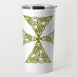 Lindisfarne St Johns Knot Grunge Travel Mug
