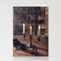 bdsm Stationery Cards featuring BDSM Rendezvous by Simone Gatterwe