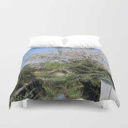 Flower Photography by Lea Katharina Duvet Cover