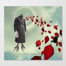 Oiseau de Mauvaise Augure Canvas Print