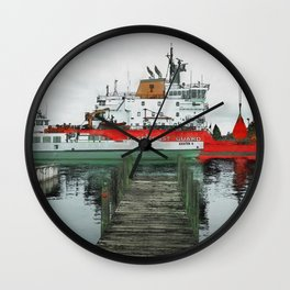 Kristen D and USCG Wall Clock