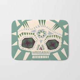 Sugar skull II Bath Mat