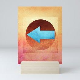 Arrow Composition XI Mini Art Print
