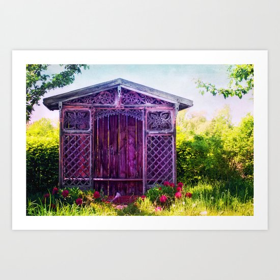 A PLACE OF SILENCE Art Print