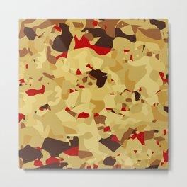 Fruit Cake Background Metal Print