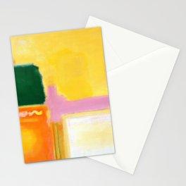 Mark Rothko - No 16 / No 12 (Mauve Intersection) Artwork Stationery Cards