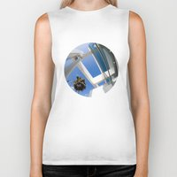 architecture Biker Tanks featuring Architecture by GF Fine Art Photography