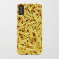 pasta iPhone & iPod Cases featuring Pasta by TilenHrovatic