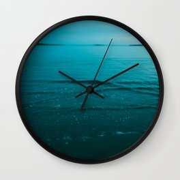 Summer of Love at the Beach Wall Clock