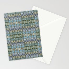 Colorful Luxury Ornate Pattern Stationery Cards