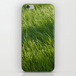 Waves of Grass iPhone Skin
