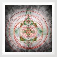 The Spiritual Centre Art Print