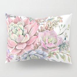 succulent watercolor 9 Pillow Sham