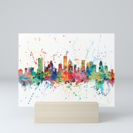 Houston Texas Skyline Mini Art Print