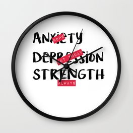 Strength, Always Wall Clock
