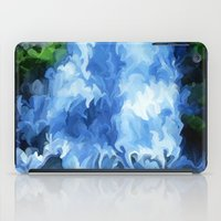 waterfall iPad Cases featuring Waterfall by Paul Kimble