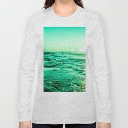 Green Sea Long Sleeve T-shirt