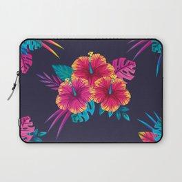 Neon flowers Laptop Sleeve